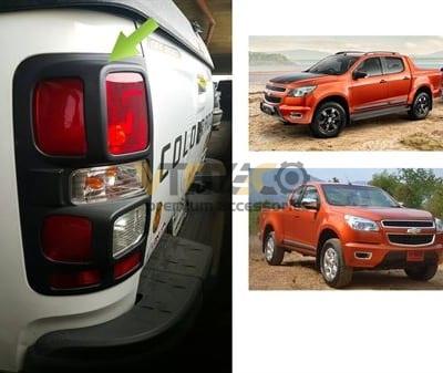 Ốp Viền Đèn Hậu (Đèn Sau) Chevrolet Colorado