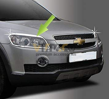 Ốp Viền Đèn Pha (Đèn Trước) Chevrolet Captiva