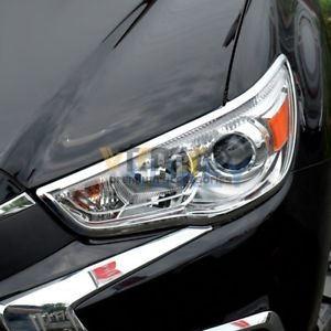 Ốp Viền Đèn Pha Mitsubishi Outlander