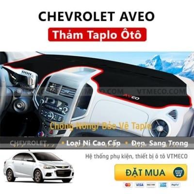 Thảm Taplo Chevrolet Aveo