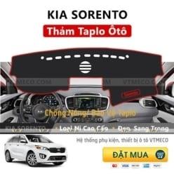 Thảm Taplo Kia Sorento