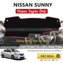 Thảm Taplo Nissan Sunny