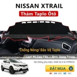 Thảm Taplo Nissan X Trail