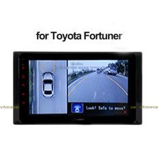 Lắp Camera 360 Độ Cho Ô Tô Toyo Fortuner