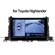 Lắp Camera 360 Độ Cho Ô Tô Toyo Highlander