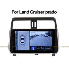 Lắp Camera 360 Độ Cho Ô Tô Toyota Land Cruiser Prado