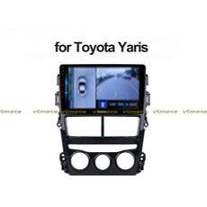 Lắp Camera 360 Độ Cho Ô Tô Toyota Yaris