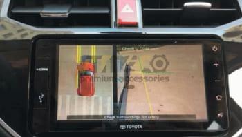 Lắp Camera 360 Độ Cho Ô Tô Toyota Rush 3