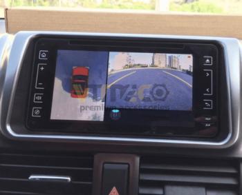 Lắp Camera 360 Độ Cho Ô Tô Toyota Vios