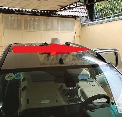 Thanh giá nóc xe bán tải Mazda Bt50