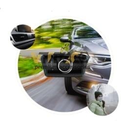 máy lọc không khí nefu trên ô tô xe hơi khử mùi