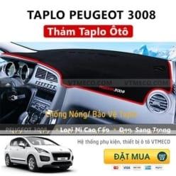 Thảm Taplo Peugeot 3008
