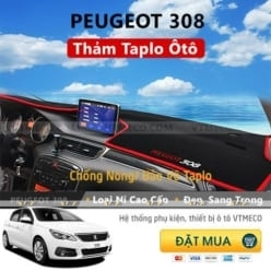 Thảm Taplo Peugeot 308