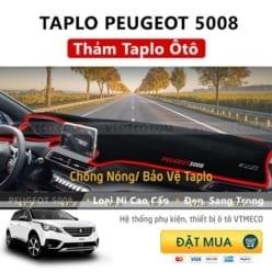 Thảm Taplo Peugeot 5008