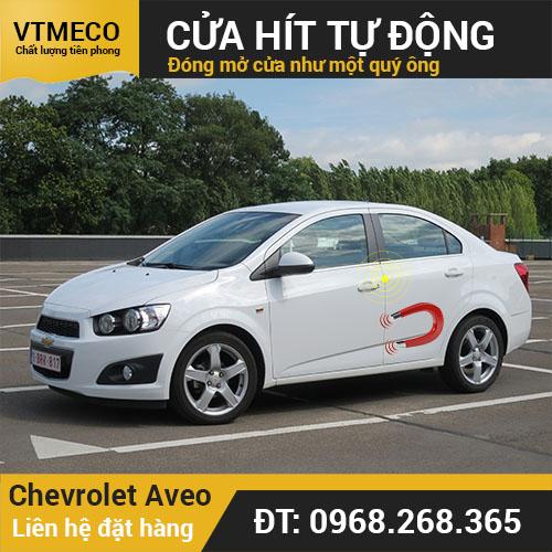 Độ Cửa Hít Ô Tô Chevrolet Aveo