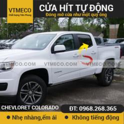 Độ Cửa Hít Ô Tô Chevrolet Colorado