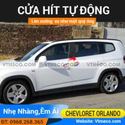 Độ Cửa Hít Ô Tô Chevrolet Orlando