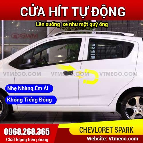 Độ Cửa Hít Ô Tô Chevrolet Spark