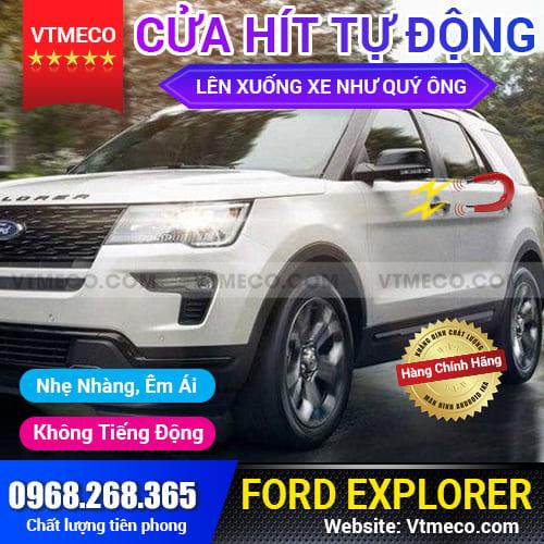 Độ Cửa Hít Ô Tô Ford Explorer