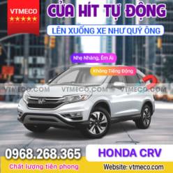 Độ Cửa Hít Ô Tô Honda CRV