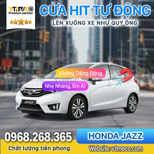Độ Cửa Hít Ô Tô Honda Jazz