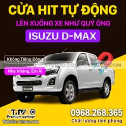 Độ Cửa Hít Ô Tô Isuzu D-Max