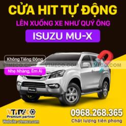Độ Cửa Hít Ô Tô Isuzu MU-X