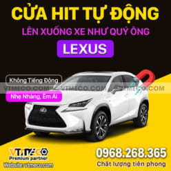 Độ Cửa Hít Ô Tô Lexus