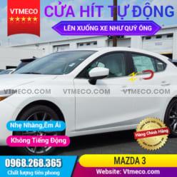 Độ Cửa Hít Ô Tô Mazda 3
