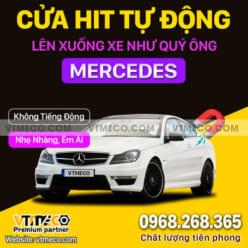 Độ Cửa Hít Ô Tô Mercedes