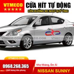 Độ Cửa Hít Ô Tô Nissan Sunny