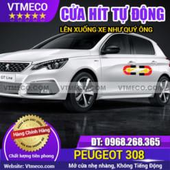 Độ Cửa Hít Ô Tô Peugeot 308